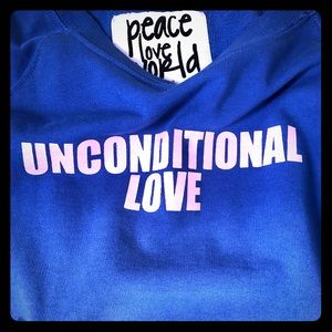 ★LIKE NEW★ UNCONDITIONAL Love Sweater XS loose fit